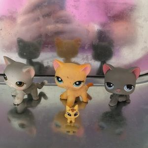 LPS CATS ($7 EACH OR $20 FOR ALL)